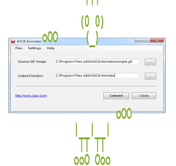 ASCII Animator Download - Animated ASCII Art Converter